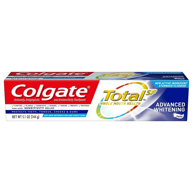 5.1oz Colgate Total Whitening Toothpaste (Advanced Whitening)