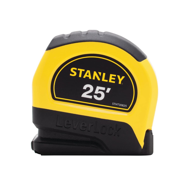 """Stanley LeverLock 25-ft. L x 1"""" W Tape Measure"""