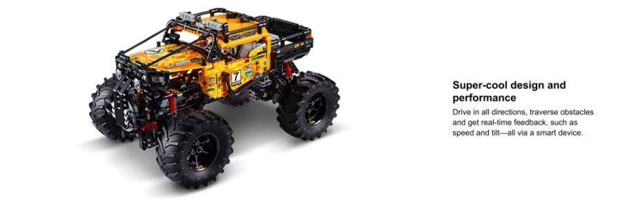 958-Piece LEGO Technic 4x4 X-treme Off Roader Building Kit
