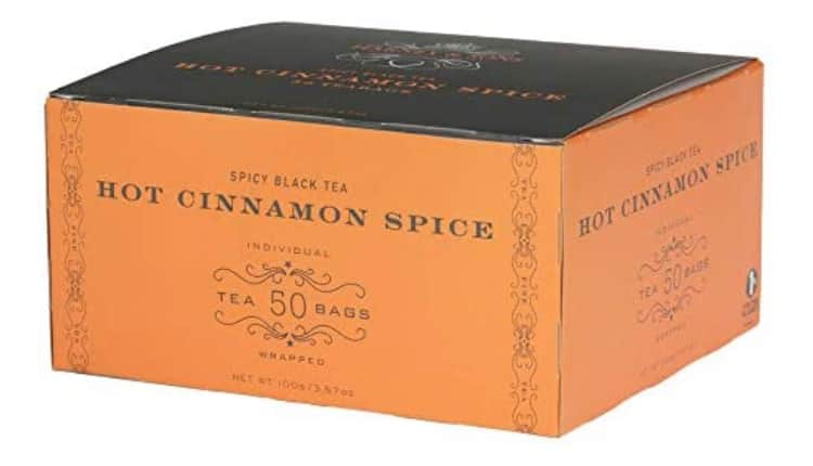 50-Count Harney & Sons Hot Cinnamon Spice Tea Bags