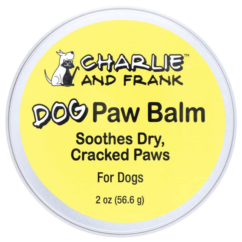 Charlie and Frank Dog Paw Balm 2-oz. Tin