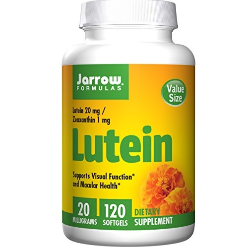 Jarrow Formulas Lutein, Supports Vision and Macular Health, 20 mg, 120 Softgels
