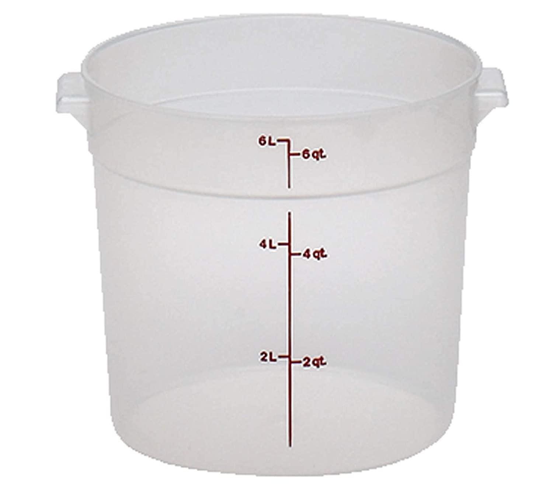 6-Quart Cambro Polypropylene Storage Container