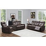 Cambridge 3-Piece Reclining Sofa, Loveseat and Chair Set by Abbyson Living