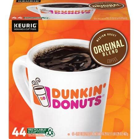 Dunkin Donuts Original Blend Coffee K-Cup 44-Pack