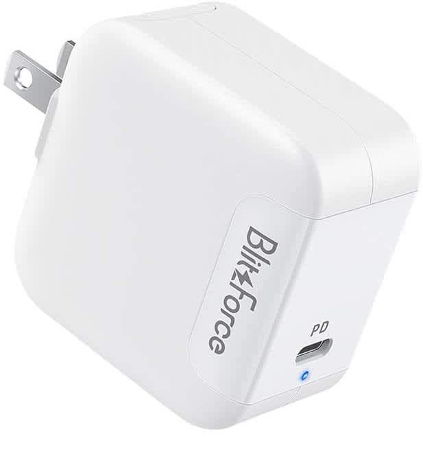 Blitzforce 65W USB-C GaN Wall Charger