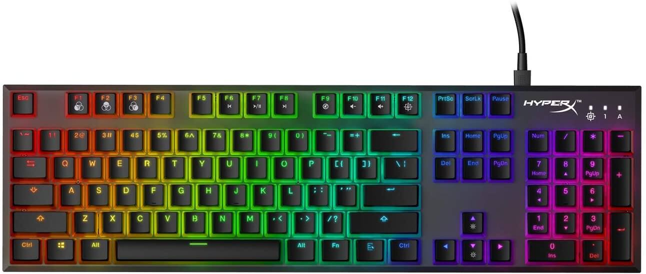 HyperX Alloy FPS RGB Backlit USB Wired Mechanical Gaming Keyboard