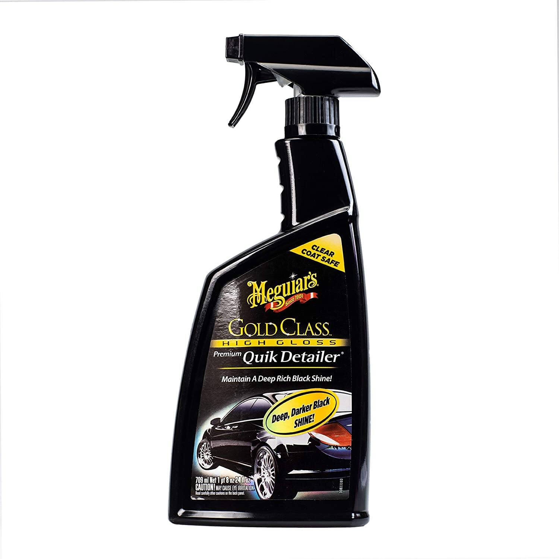 24oz Meguiar's Gold Class High Gloss Premium Automotive Quik Detailer