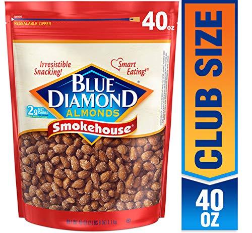 Blue Diamond 美国大杏仁, 烧烤味,40 oz 点击Coupon后