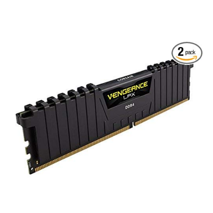 史低价!CORSAIR 美商海盗船 复仇者 Vengeance LPX 16GB 2*8GB 台式机内存条