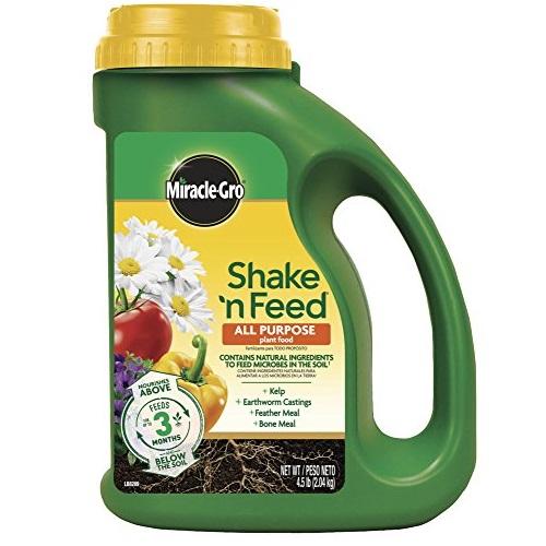 Scotts Miracle Gro  All Purpose  缓释化肥,可用于蔬菜,4.5磅