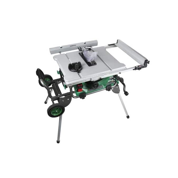 """Metabo HPT 10"""" 15-Amp Carbide-Tipped Blade Table Saw"""