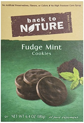 6.4oz Back to Nature Cookies (Fudge Mint)