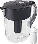Brita Large 10-Cup Water Filter Pitcher with 1 Standard Filter