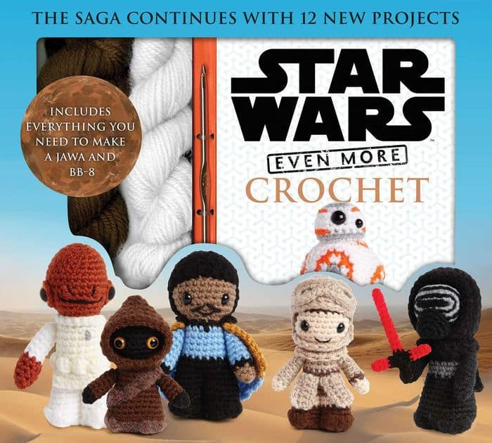 Star Wars Even More Crochet (Hardcover Book)