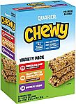 58-Count Quaker Chewy Granola Bars (Variety Pack)