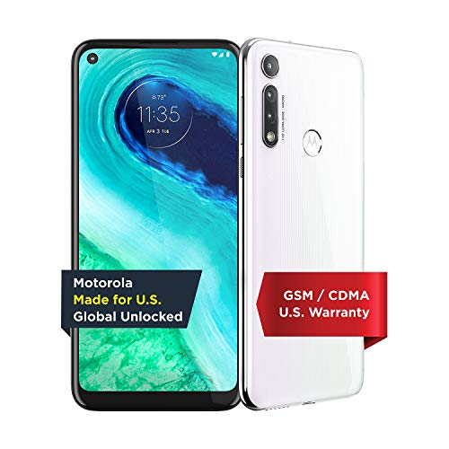 Moto G Fast | Unlocked | Made for US by Motorola | 3/32GB | 16MP Camera | 2020 | White
