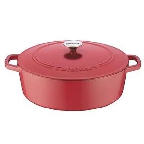 金盒特价!Cuisinart 多款珐琅铸铁锅具 低至6.1折!