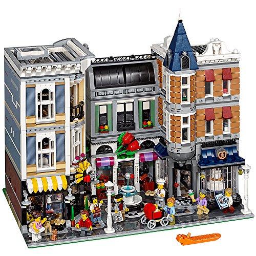 补货!巅峰之作!乐高街景十周年!LEGO乐高 Creator创意街景 10255 经典建筑 城市广场