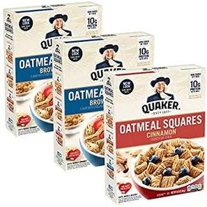 金盒特价!Quaker Chewy 早餐即食燕麦、谷物棒促销 7折起!
