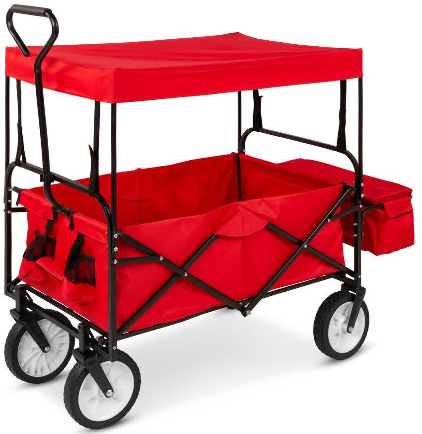 Best Choice Products Folding Cargo Wagon Cart