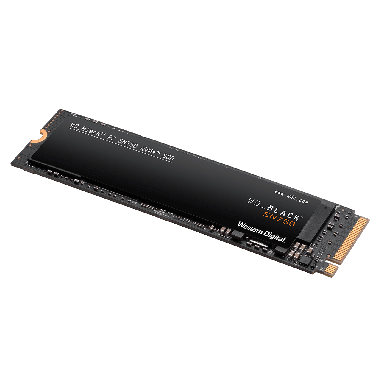 New WD Accounts: 1TB WD Black SN750 NVMe M.2 2280 Internal Solid State Drive