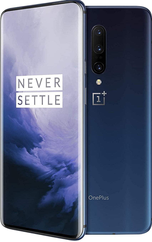 256GB OnePlus 7 Pro Sprint + GSM Unlocked Smartphone (Nebula Blue)