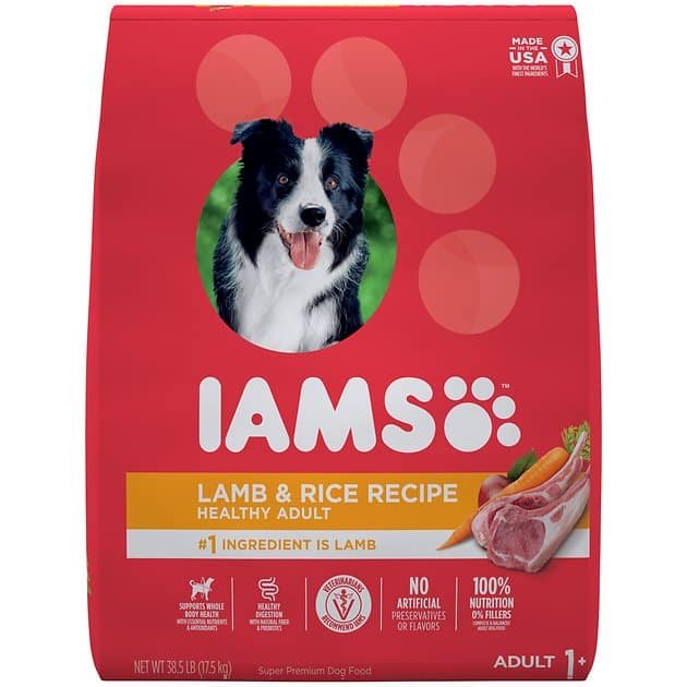 38.5-Lbs Iams ProActive Health Adult Lamb & Rice Formula Dry Dog Food