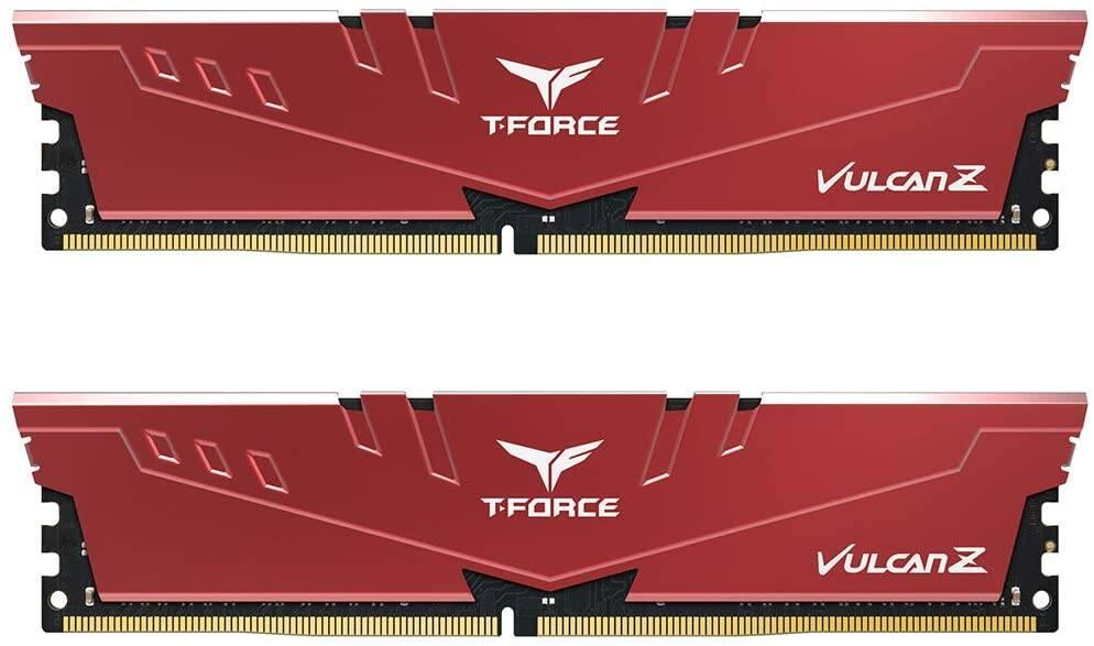 Prime Members: 32GB (2x16GB) Team Group T-Force Vulcan Z DDR4 Desktop Memory