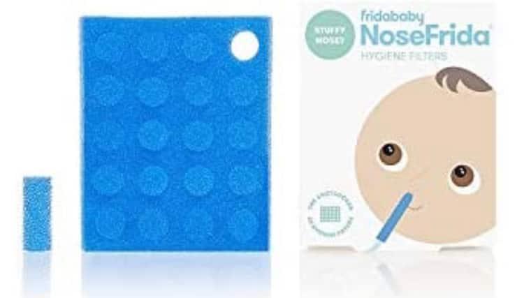 20-Pk Hygiene Filters for Fridababy NoseFrida Snotsucker Baby Nasal Aspirator