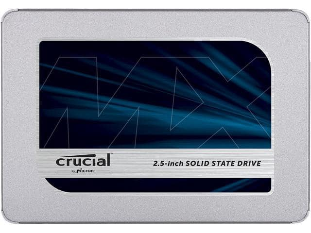 "1TB Crucial MX500 2.5"" 3D NAND SATA III Internal Solid State Drive"
