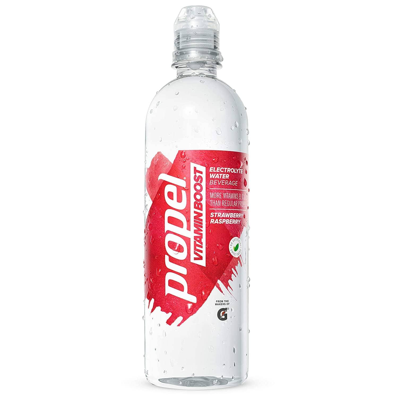 12-Pack of 20oz Propel Vitamin Boost (Strawberry Raspberry)