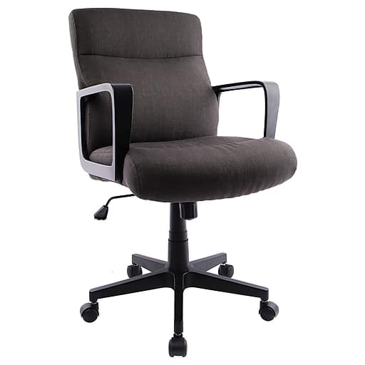 Staples Brookmere Fabric Manager Chair (Gray)