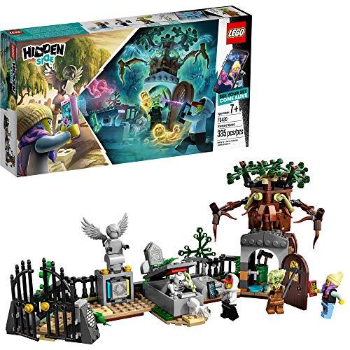 史低价!LEGO乐高 Hidden Side系列70420 神秘墓地