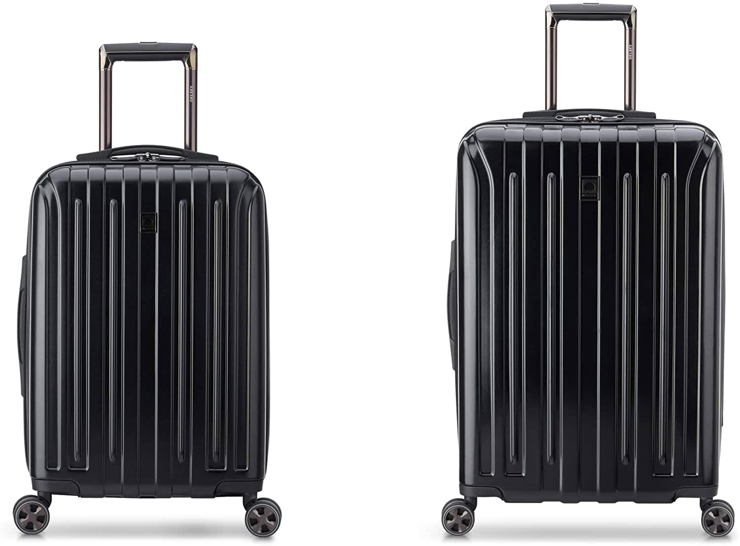 Delsey Paris Titanium DLX Hardside Spinner Luggage 2-Piece Set