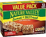 12-Ct Nature Valley Cashew Sweet & Salty Nut Granola Bars