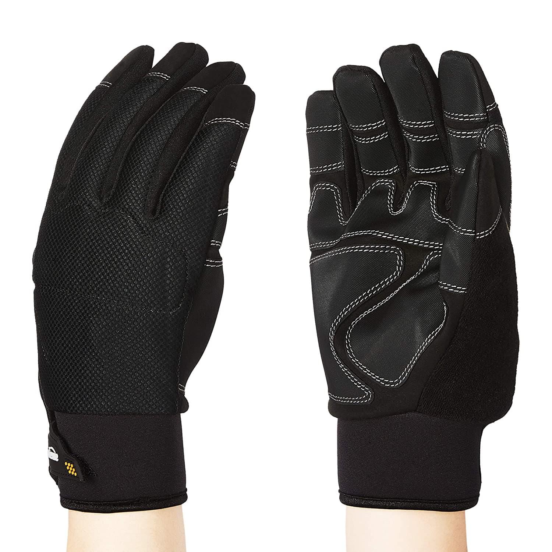AmazonBasics Waterproof Winter Plus Performance Gloves (Black)
