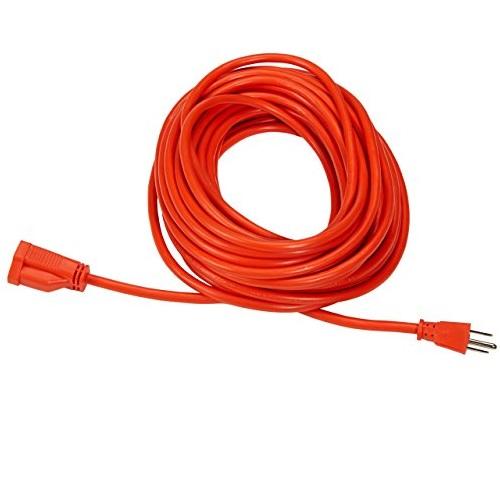 AmazonBasics  50英尺电线延长线,可室外使用,4根装
