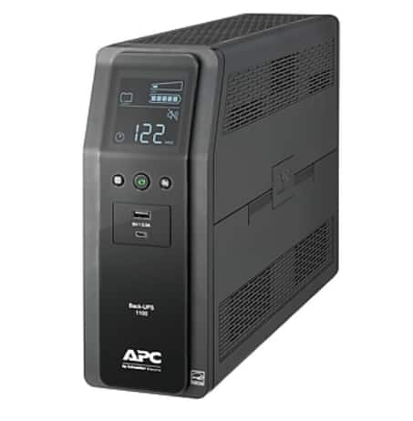 APC BN1100M2 10-Outlet 1100VA Back-UPS Pro Battery Back-Up System