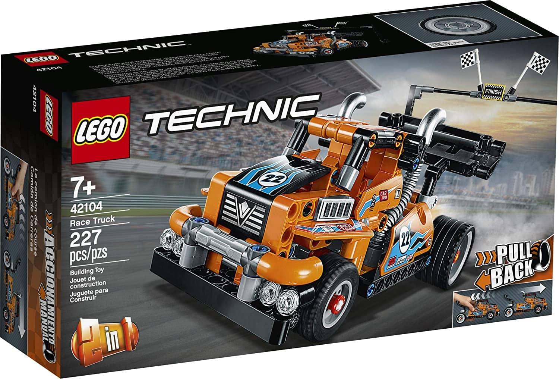 227-Piece LEGO Technic Race Truck Pull Back Building Kit