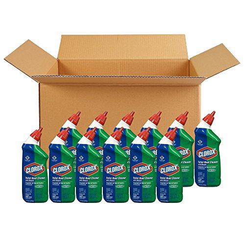 Clorox 马桶洁净清洗剂,24 oz/瓶,共12瓶