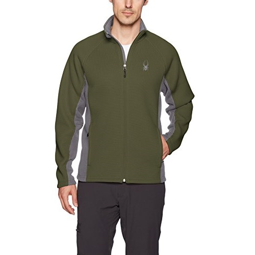 Spyder Men's Foremost Full Zip Heavy Wt Stryke Jacket