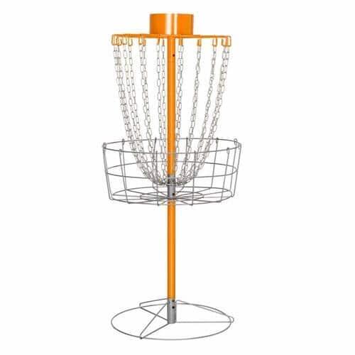 Yaheetech 18-Chain Portable Disc Golf Basket (Orange)