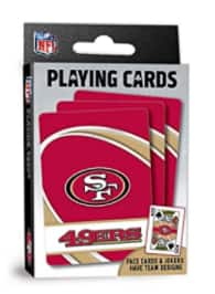 MasterPieces NFL Team Playing Cards: 49ers, Saints, Packers & More