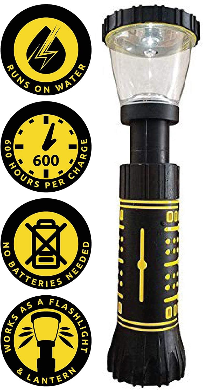 Hydralight Water-Powered Flashlight