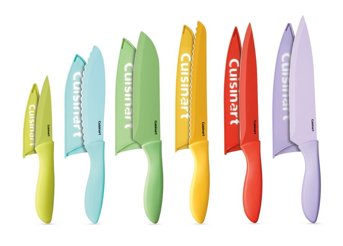 Cuisinart 12-Piece Ceramic Color Knife Set