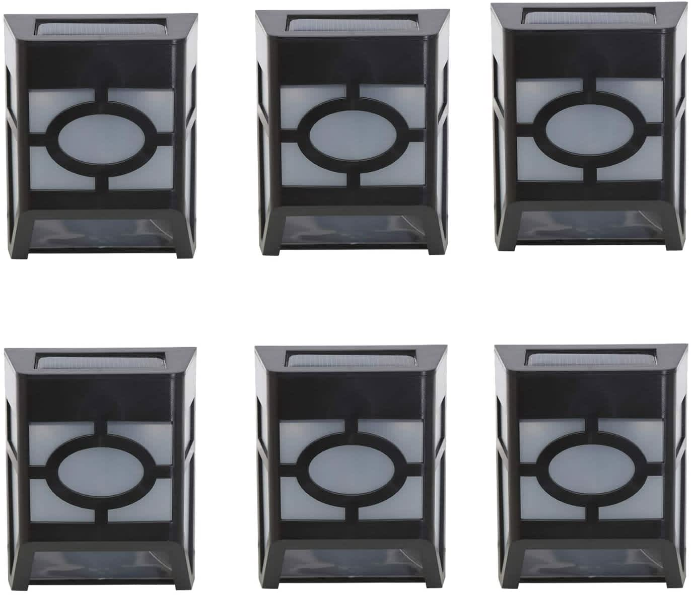 DiDi Deng Outdoor LED Solar Fence Lights 6-Pack