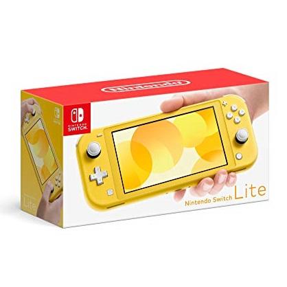 Nintendo Switch Lite 游戏机,32GB 亮黄色款