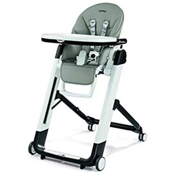 意大利Peg Perego帕利高Siesta 婴儿高脚四轮移动餐椅