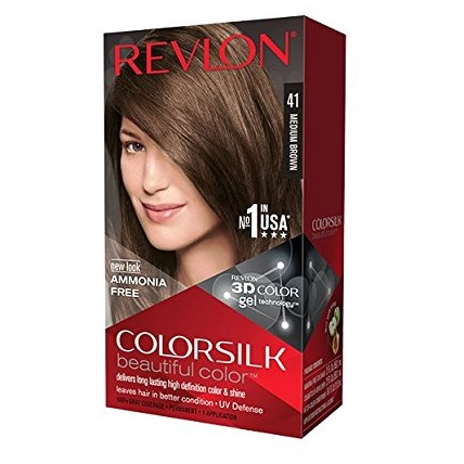 Revlon ColorSilk Beautiful Color, Medium Brown